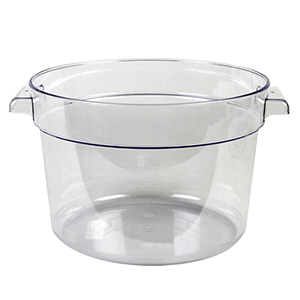 Round Polycarbonate Containers